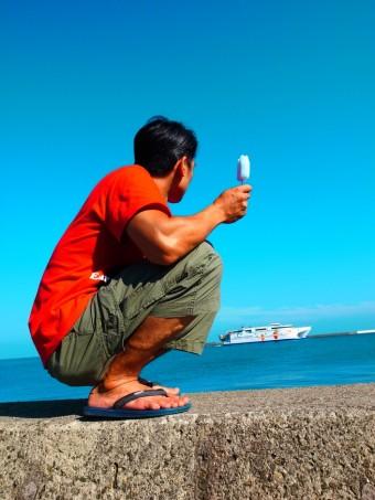 佐渡の港①