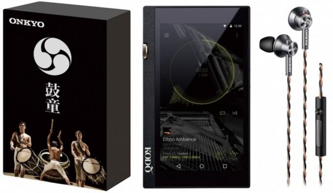 鼓童コラボモデル「ハイレゾ対応デジタルオーディオプレイヤー DP-X1、ハイレゾ対応インナーイヤーヘッドホン E700」