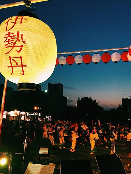 """2017年7月8日(土)、9日(日)鼓童演奏「ISETAN BON DANCE 2017 """"踊る!艶祭""""」(東京都新宿区)"""