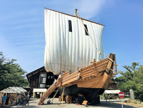 2017年7月29日(土)「白山丸まつり前夜祭 鼓童公演」(新潟県佐渡市)